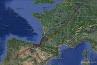 Herbstzugroute Fred 2012 und 2013